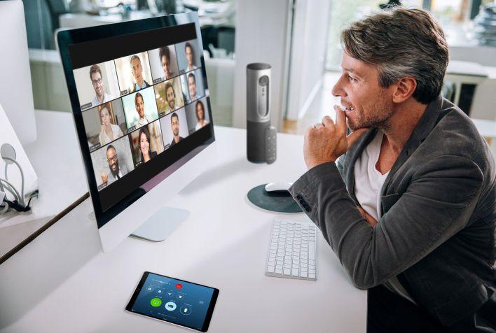 03/06/2020 Una videoconferencia a través de Zoom POLITICA ECONOMIA Zoom Video Communications