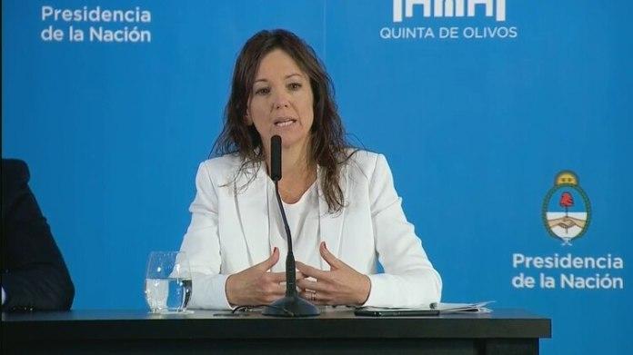 La ministra de Desarrollo Social, Carolina Stanley, no está de acuerdo con la iniciativa