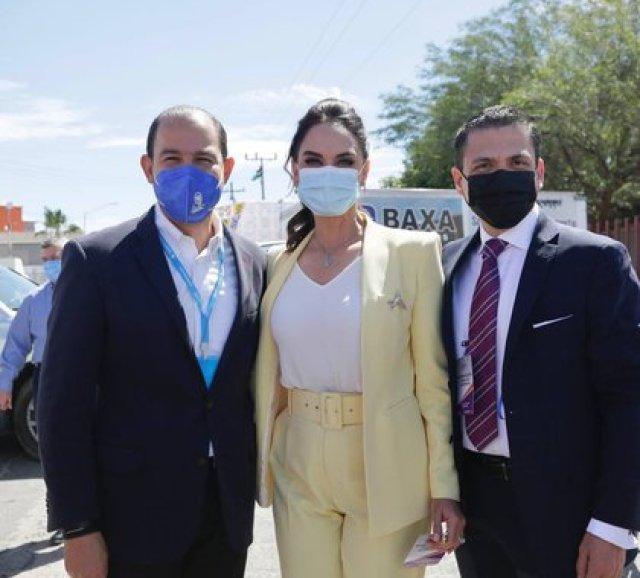 "Lupita Jones inició su campaña por la gubernatura de Baja California con el slogan ""Hagamos de Baja California un estado modelo"" (Foto: Twitter/LupJonesof)"