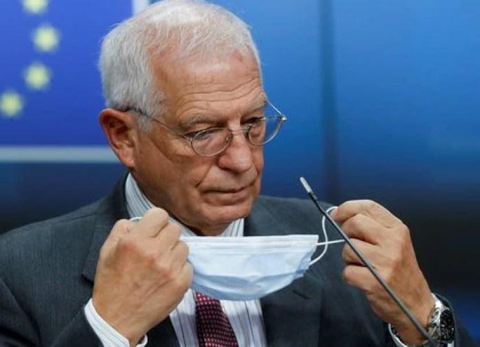 "Josep Borrell, the High Representative for EU Foreign Policy, argues that the Maduro regime lacks ""democratic legitimacy"" (Olivier Hoslet / Pool via REUTERS)"