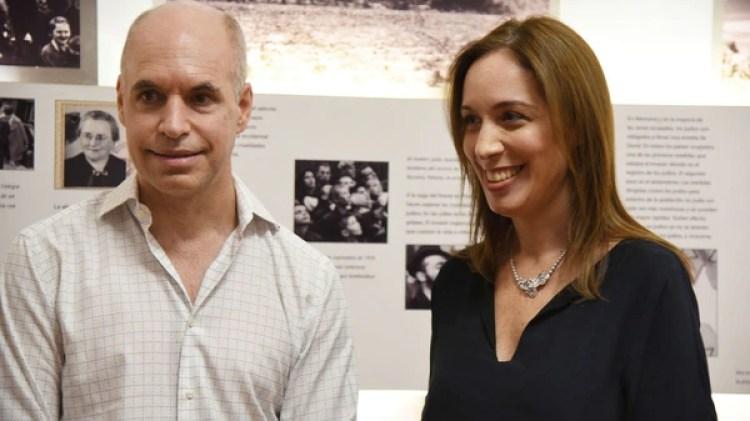 Horacio Rodríguez Larreta y María Eugenia Vidal