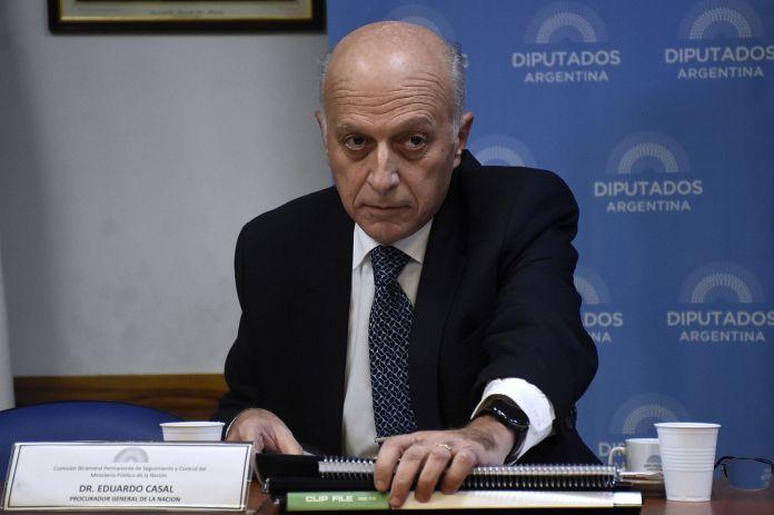 """El confirmado ministro de Justicia, Martín Soria, cuestionó al procurador interino Eduardo Casal por estar """"atornillado"""" al cargo. (Nicolás Stulberg)"""