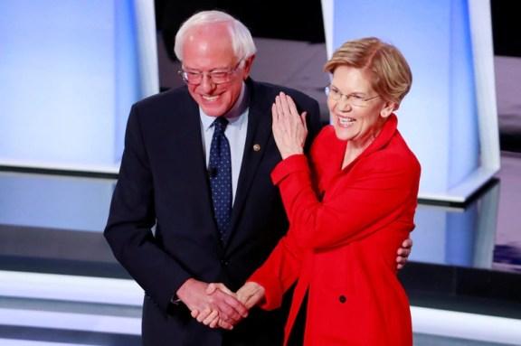 """Por el momento, los senadores más progresistas han evitado caer en un """"fuego amigo"""" (Reuters)"""