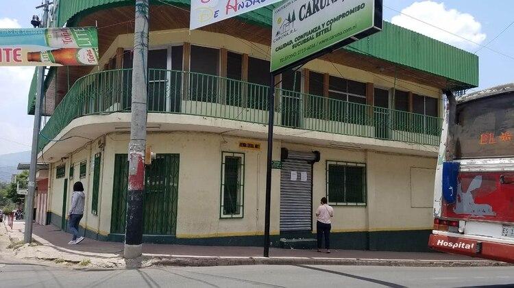 Desde mayo de 2018, las oficinas de Caruna en Somoto cerraron sus operaciones ante el reclamo de miles de clientes que pedían sus ahorros. (Cortesía/La Prensa)