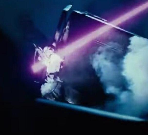 """Las armas de los robots eran láser con los que aniquilaban a los humanos, según su relato Foto: (Captura de pantalla película """"Terminator"""")"""