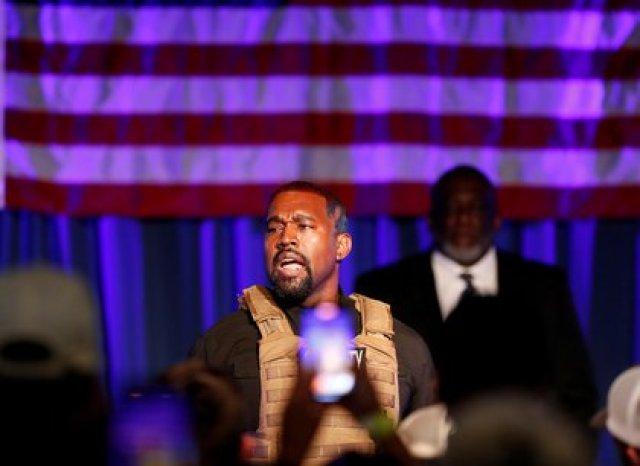 El rapero reveló numerosas cosas en un mitin (Foto: REUTERS/Randall Hill)