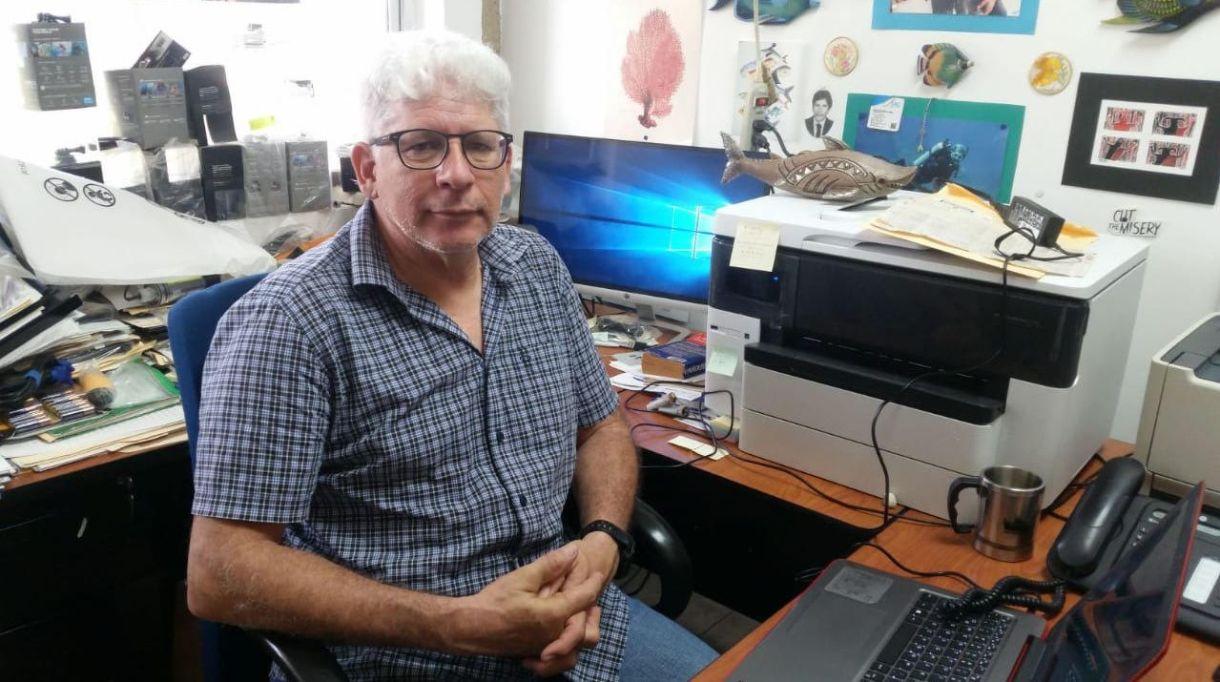 Amilcar Cupur Magaña, invetsigador del Centro Universitario de la Costa de la UdeG