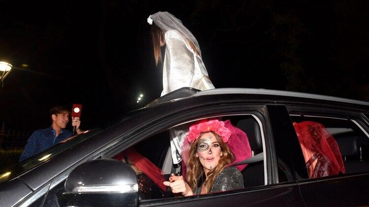 La organización de la despedida de soltera estuvo a cargo de la DJ Puli Demaría (Foto: Franco Fafasuli)