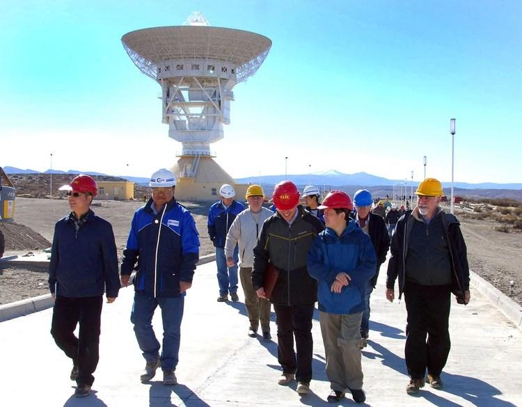 La estación espacial en Neuquén depende del Ejercito Popular de China(Télam)