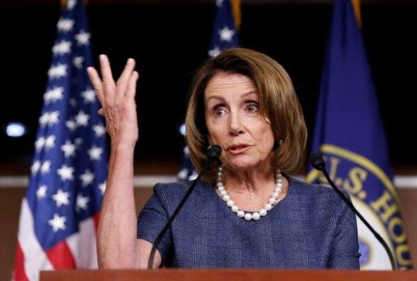 Nancy Pelosi, líder demócrata en la Cámara de Representantas (Reuters)