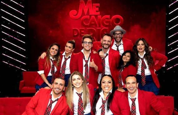 """En la emisión más reciente de Me Caigo de Risa el programa homenajeó a la telenovela juvenil """"Rebelde"""" (Foto: Instagram de @mecaigoderisaof)"""