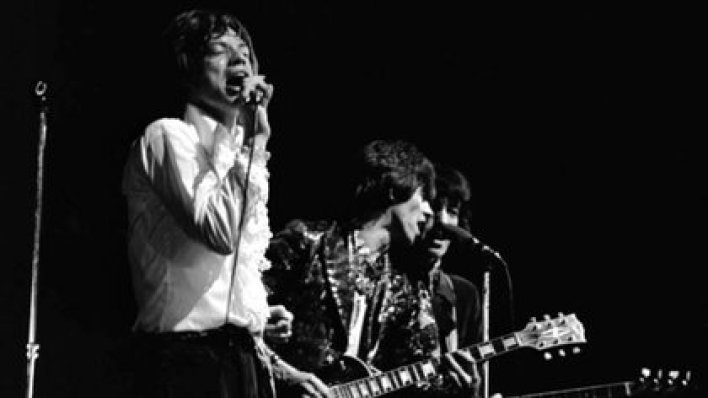 Que sea rock: Mick Jagger, Keith Richards y Bill Wyman, en 1967 (Foto: AP)