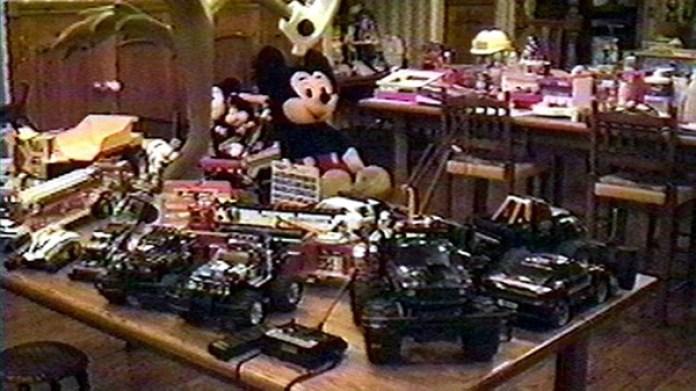 Después de la muerte de Michael Jackson en su mansión se encontraron cientos de juguetes