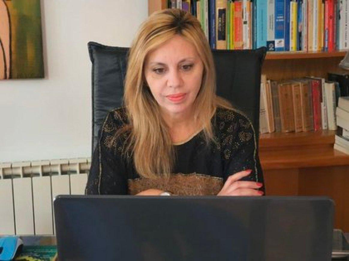 María de los Angeles Sancun, figura clave en el entorno de la Vicepresidenta