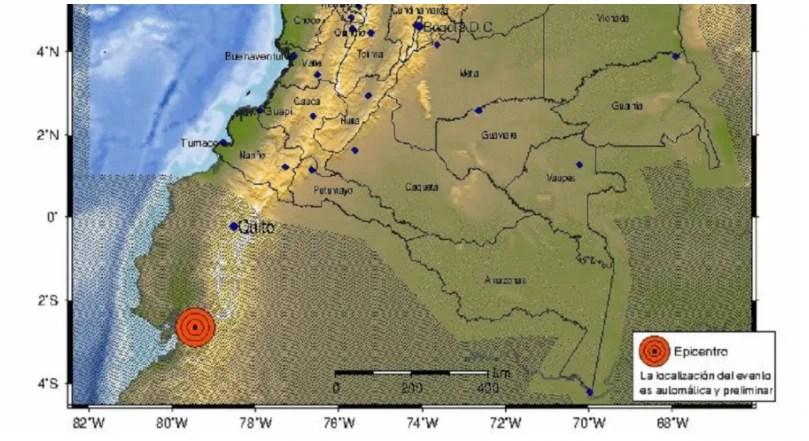 Temblor Chocó