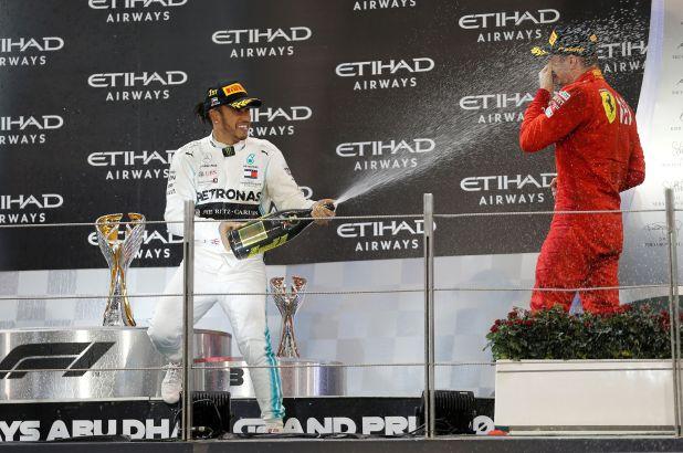 Leclerc le abrió las puertas de Ferrari a Hamilton   REUTERS/Hamad I Mohammed