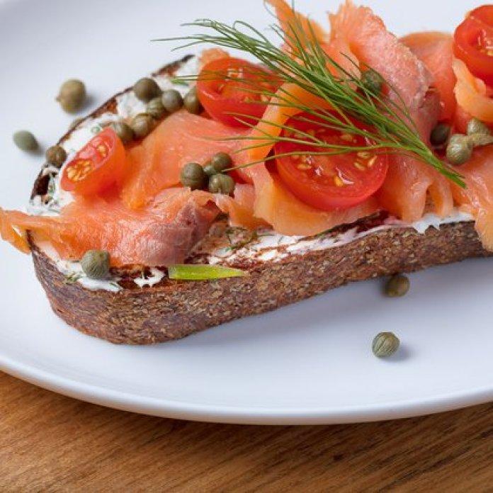 Bruschetta de salmón ahumado por Rubén Morello de Figatta