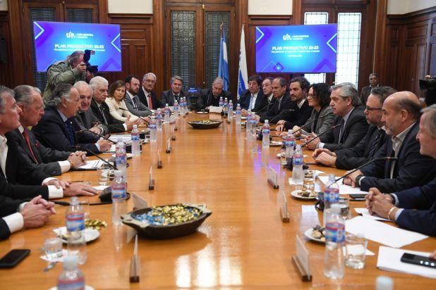 El plan productivo fue presentado a los diferentes candidatos presidenciales (Maximiliano Luna)