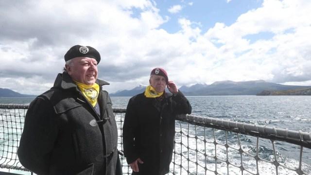 Fueron condecorados diez del Ejercito de Chile, otros tantos de la Armada y una decena de la Fuerza Aérea (EFE)
