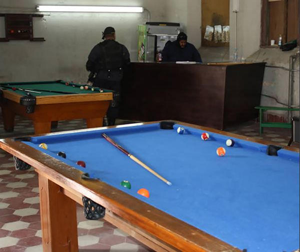 Celda VIP del Centro de Readaptación de Chihuaha