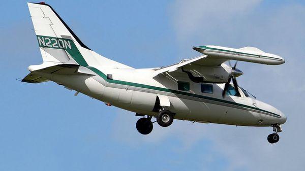 Esta es la avioneta desaparecida