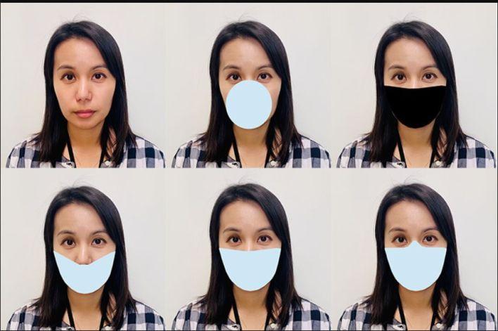 barbijos máscaras faciales y reconocimiento facial (NIST)