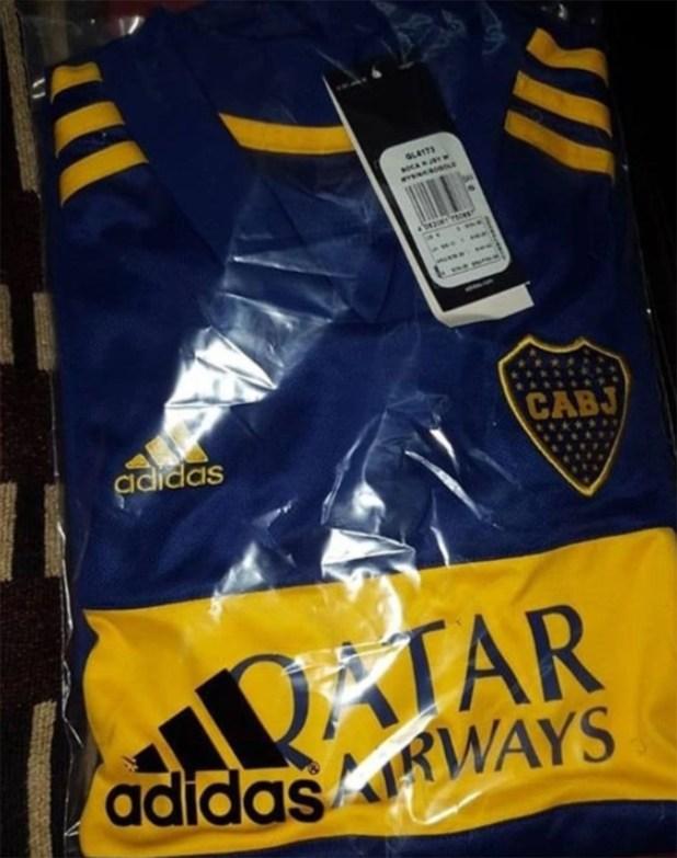 Esta sería la nueva camiseta de Boca para el fútbol profesional masculino, femenino y de las divisiones inferiores