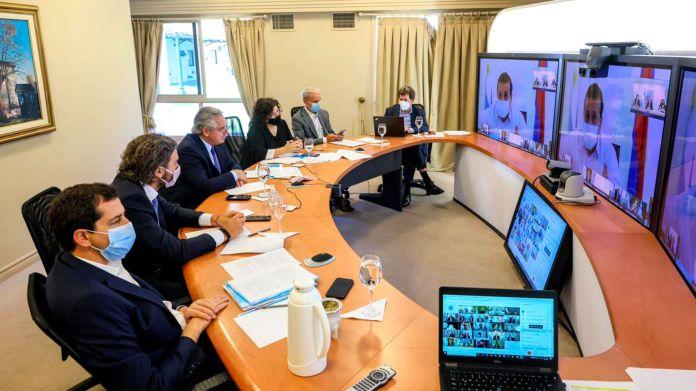 reunion-de-Alberto-Fernandez-con-gobernadores