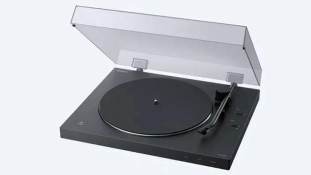 El nuevo tocadiscos de Sony saldrá a la venta en abril