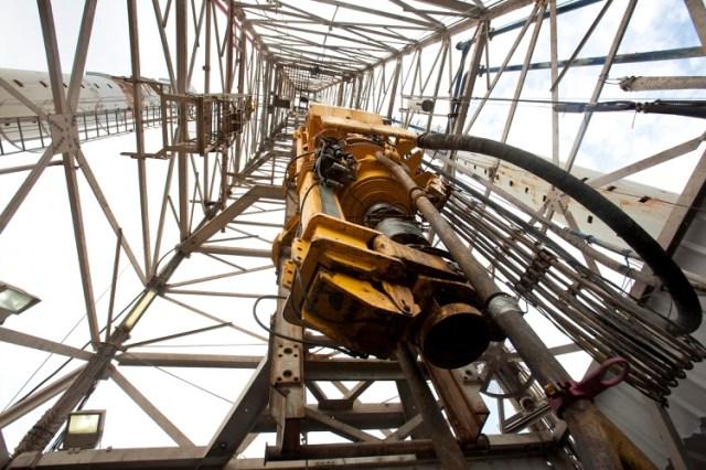 Una torre extractora de petróleo en el Golfo de México (REUTERS/Lee Celano)