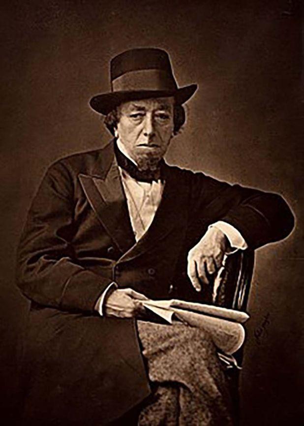 El escritor y político británico Benjamin Disraeli