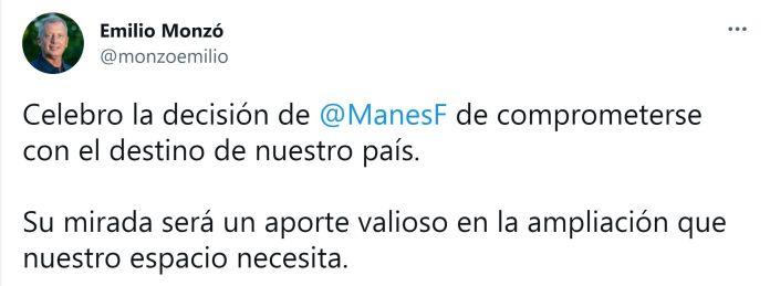Facundo Manes-Emilio Monzó
