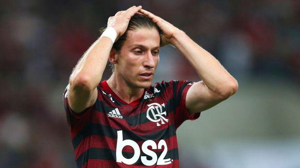 Filipe Luis llegó procedente del Atlético de Madrid y se acopló rápidamente al juego sudamericano (Reuters/ Ricardo Moraes)