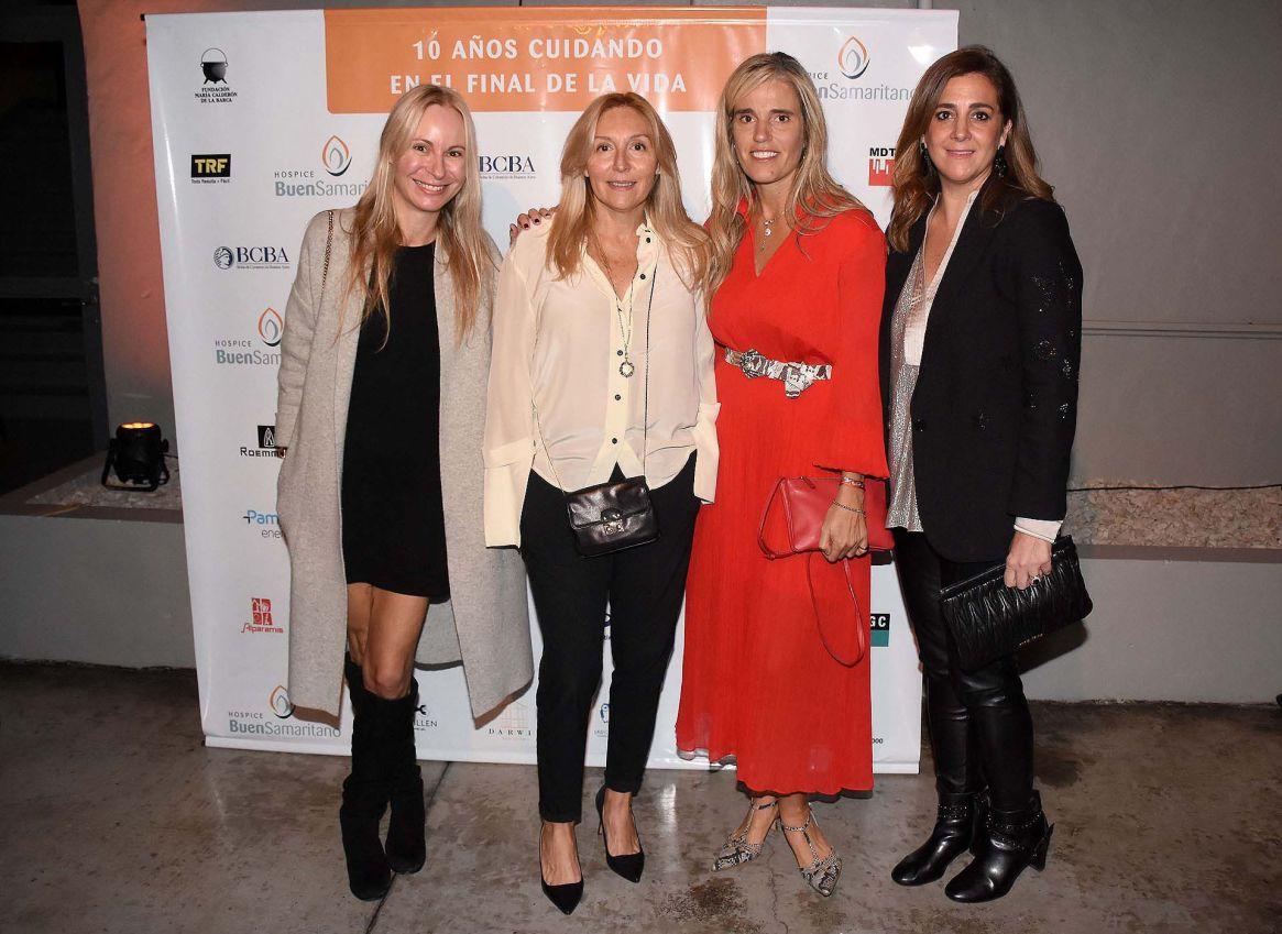 Malena Szaszak, Daniela Saguier, Pachi Dibetto y Carolina Hatcharian