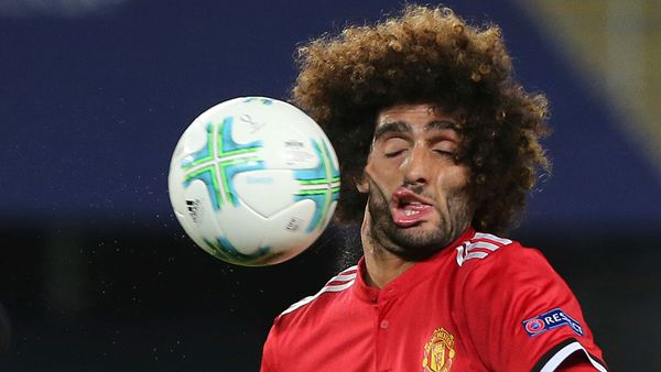 La foto de Fellaini que se volvió viral(AP)