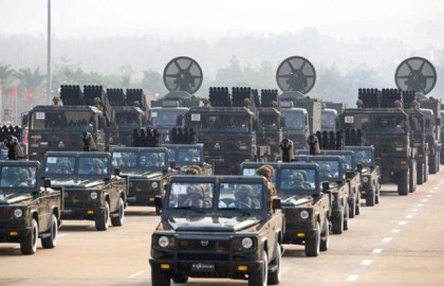 Los militares tomaron el poder en Myanmar a través de un golpe de Estado