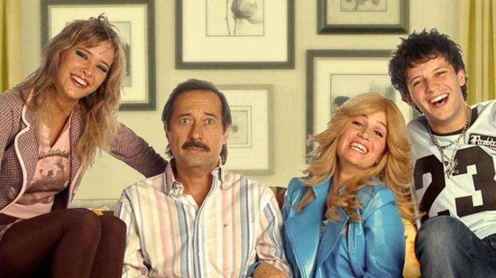 Francella y Peña interpretaban a los padres de Luisana y Darío Lopilato en