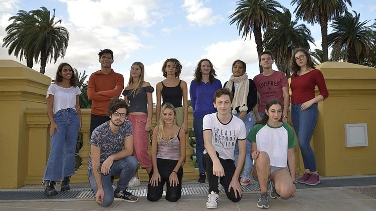 Jovenes argentinos unidos en la lucha sobre el cambio climático (Gustavo Gavotti)