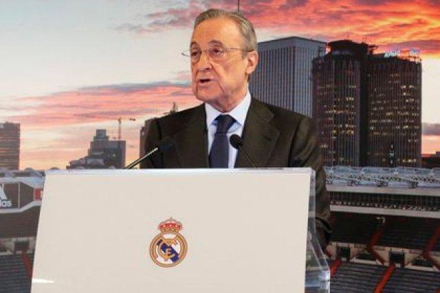 El presidente del Real Madrid, Florentino Pérez (EFE)