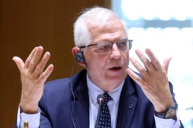 Josep Borrell, alto representante para la política exterior de la UE (Francois Walschaerts/Pool via REUTERS)