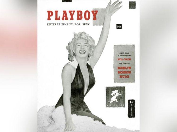 La primera portada de Playboy, en diciembre de 1953, con Marylin Monroe