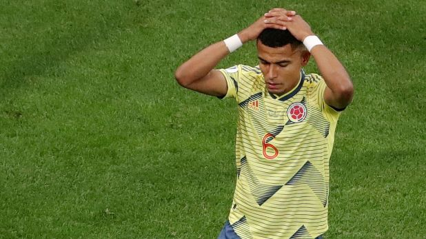 Otro jugador de selección pretendido por el Consejo de Fútbol de Boca: William Tesillo (Reuters)