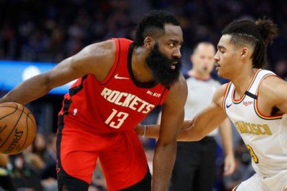 James Harden tiene la barba más larga de la NBA (USA TODAY Sports)