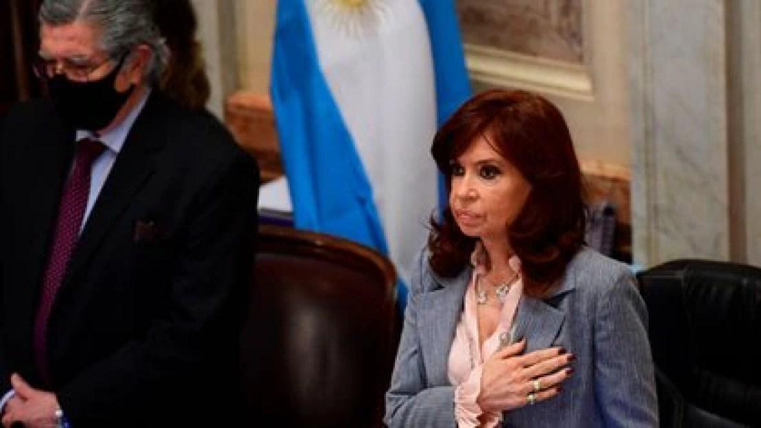 La vicepresidenta Cristina Kirchner (Maximiliano Luna)