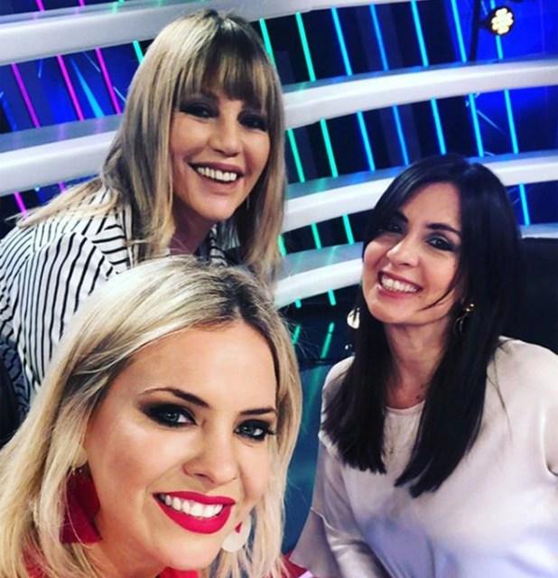 Aquí, con Alejandra Maglietti, las dos principales apuntadas por Nai Awada: Any Ventura y Edith Hermida (Instagram)