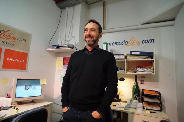 """Marcos Galperin, CEO de Mercado Libre, una de las """"grandes"""" que exportan software"""