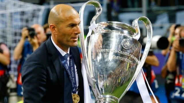 Zinedine Zidane (Real Madrid), uno de los ternados como mejor entrenador de fútbol masculino (Reuters)