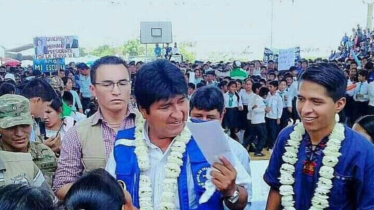 Si Evo Morales es reelecto en octubre de este año, gobernará hasta 2025. Rodríguez tendrá entonces 35 años