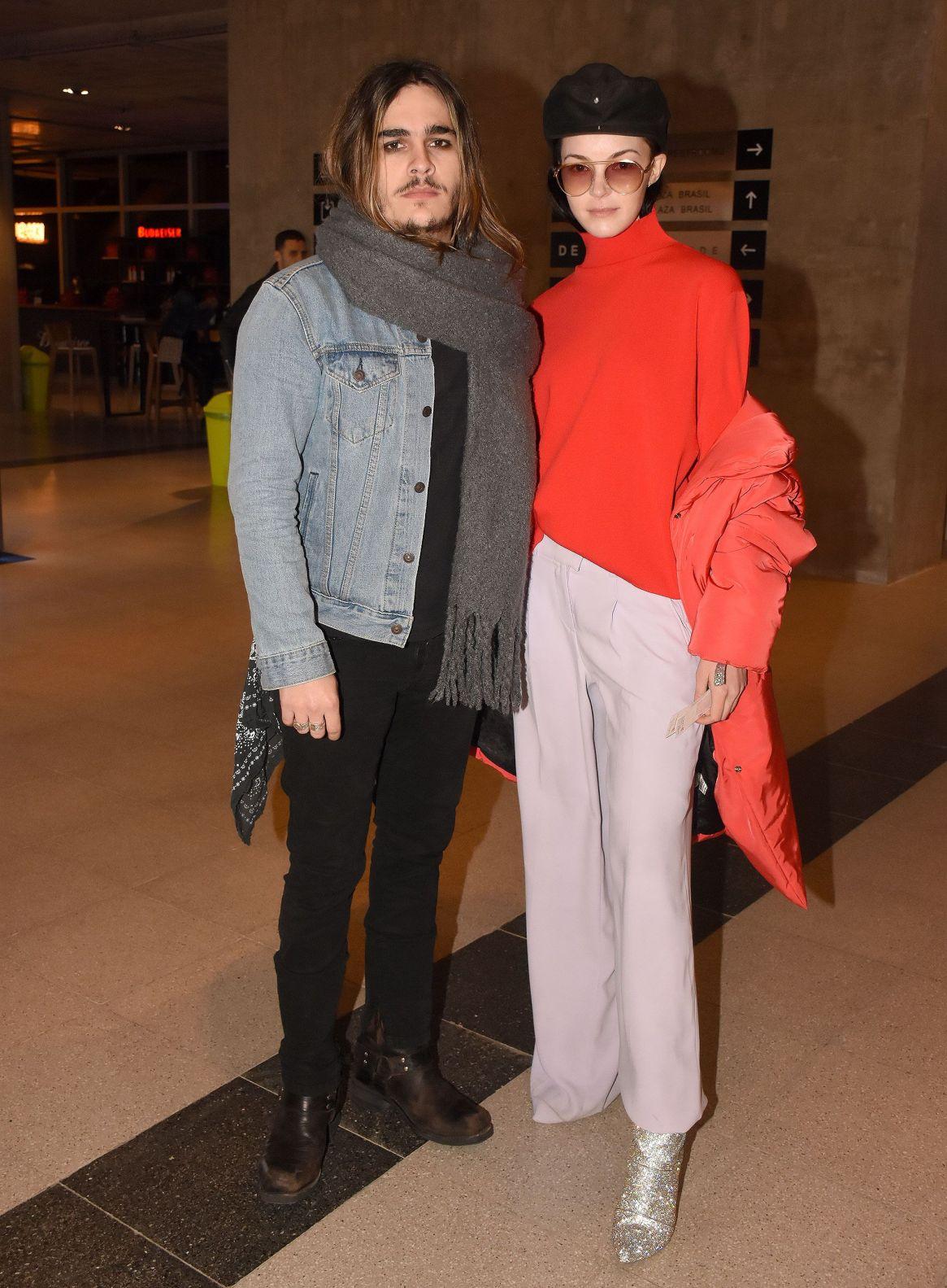 El cantante Patricio Sardelli y su novia Melisa Garat