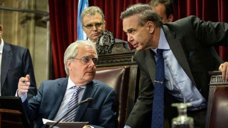 Federico Pinedo y Miguel Ángel Pichetto (NA)